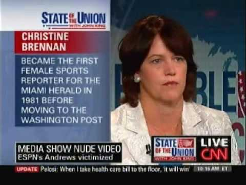 """Christine Brennan On """"Gross, Despicable"""" Erin Andrews Video"""