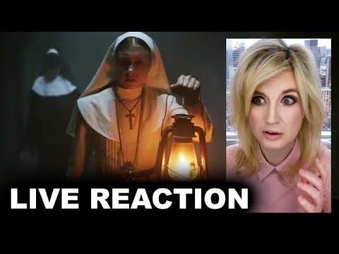 The Nun Trailer REACTION