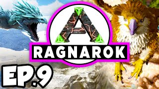 ARK: Ragnarok Ep.9 - ALPHA PARASAUR DINOSAURS TAME ATTEMPT!!! (Modded Dinosaurs Gameplay)