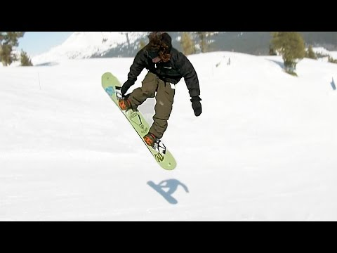 Jeff Hopkins rides Mount Bachelor