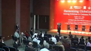 Harmonizing Globalization - Seeking Solutions To Common Problems: Day Two  - Pt 3