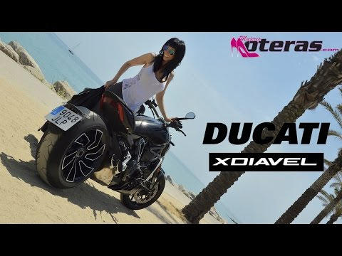 Ducati XDiavel S, action test ride
