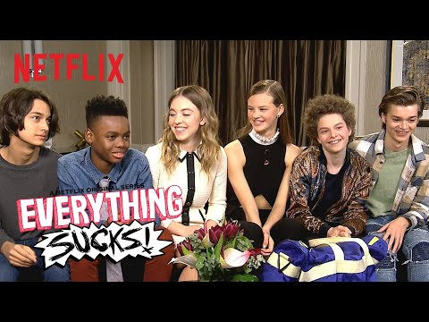 Everything Sucks! | Interview: What's in Your BackPack | Netflix