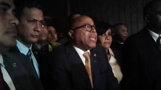 Vocero diputados PRM explica salida del hemiciclo