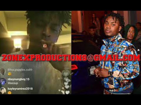 "21 Savage ADMITS Lil Baby DEAD homie Lil Marlo WAS SHOT by slaugher gang""We warned him!""CRAZY"