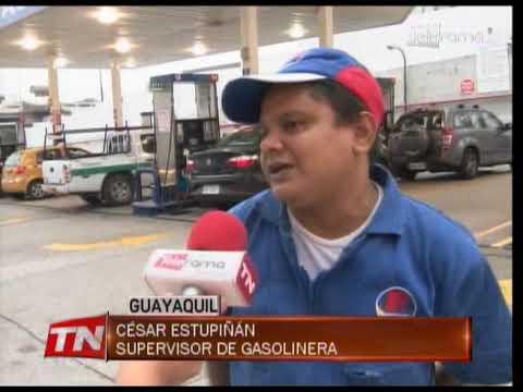 Afluencia de conductores en gasolineras tras derogatoria de decreto 883