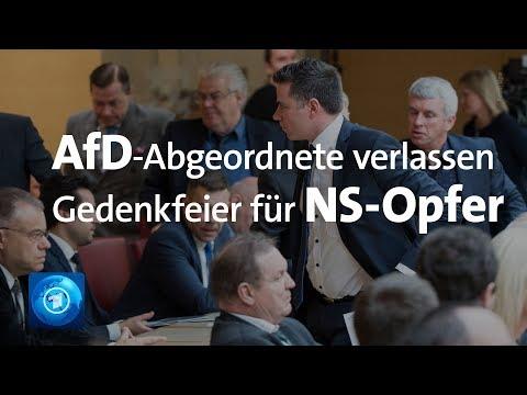 AfD verlässt nach Kritik Gedenkakt für NS-Opfer