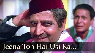 Video Jeena Toh Hai Usi Ka - Pran - Ashok Kumar - Adhikar - Old Bollywood Songs MP3, 3GP, MP4, WEBM, AVI, FLV Mei 2019