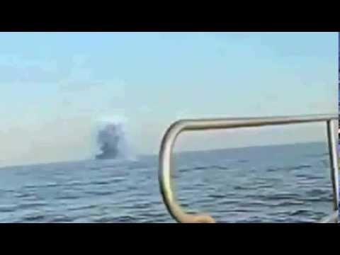 oggetti non identificati scompaiano nell'oceano