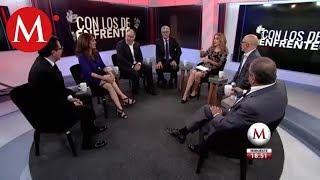 AMLO vs Empresarios y las encuestas presidenciales /Con los de Enfrente