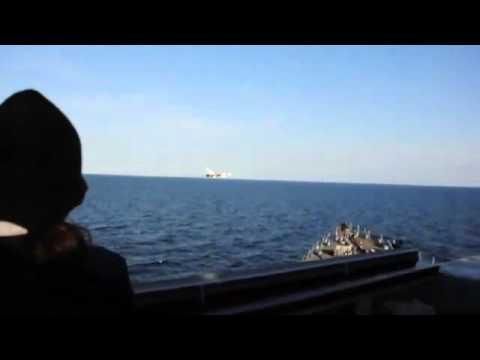 США оприлюднили відео з російськими провокаціями проти американського есмінця