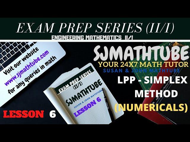 2 - LPP - Simplex Method
