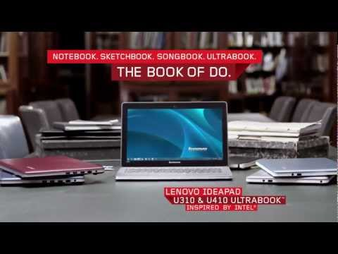 Lenovo IdeaPad U310 & U410 Ultrabook Tour