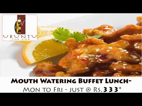 Marimba & Ubuntu – Mouth Watering Buffet Lunch From Monday – Friday