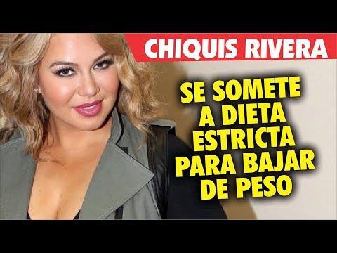 Dietas para adelgazar - Chiquis Rivera se somete a dieta estricta para bajar de peso