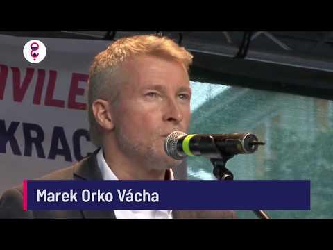 Demonstrace 5. 6. 2018 - Marek Orko Vácha