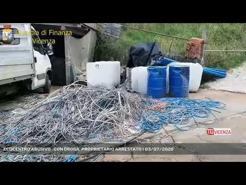ECOCENTRO ABUSIVO ..CON DROGA, PROPRIETARIO ARRESTATO | 03/07/2020
