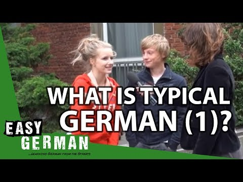 Easy German Episode 20 - What is typical German to you? (Part 1)