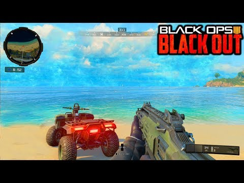 NEW BLACKOUT EXCLUSIVE SKIN GAMEPLAY - BLACK OPS 4 BLACKOUT LIVE!