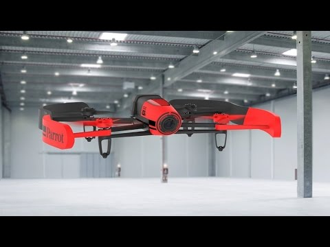 Parrot BeBop Drone 14 MP Full HD 1080p Fisheye Camera Quadcopter