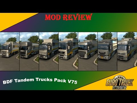 BDF Tandem Truck Pack v75