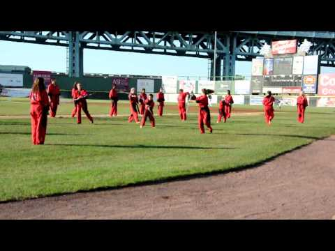 Camden Riversharks Performance Team Red Dragon Alternate View