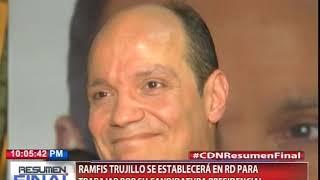 Ramfis Trujillo se establecerá en RD para trabajar por su Candidatura Presidencial