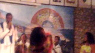 Ethiopian Girl Whipping Her Hair Back And Forth
