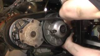 2. How to change the belt on a Polarisr Ranger