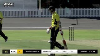 Highlights  Western Australia V Queensland  Jlt One Day Cup