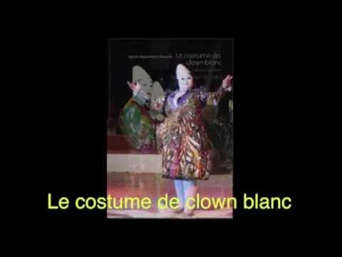 Le costume du clown blanc à la 10ème semaine du Cirque d'Aubervoye