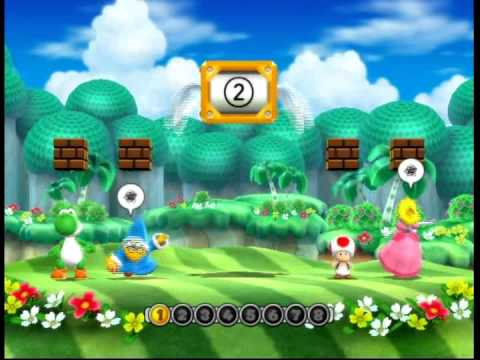 Yoshi - Solo Mode of Mario Party 9 Map 1 - Toad Road Played as Yoshi.