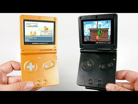 FAKE Gameboy Advance SP VS REAL Gameboy Advance SP