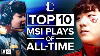 Video The Top 10 Mid-Season Invitational Plays of All-Time MP3, 3GP, MP4, WEBM, AVI, FLV Agustus 2019