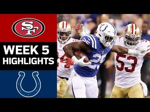 49ers vs. Colts | NFL Week 5 Game Highlights - Thời lượng: 8:34.