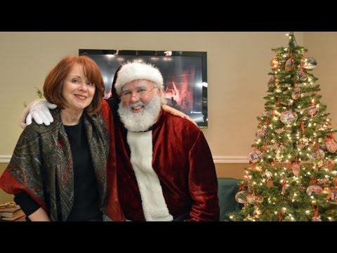 Good Ol' Santa visits Koenig & Strey's Winnetka office