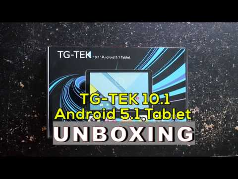Unboxing TG TEK 10 1 Android 5 1 Tablet!