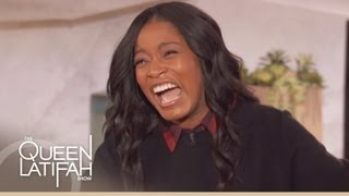 Keke Palmer's Hilarious Impersonation on The Queen Latifah Show