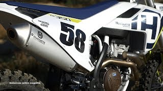 5. First Ride 2018 Husqvarna FC350 - Motocross Action Magazine