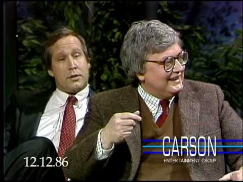 Chevy Chase Makes Fun of Siskel & Ebert on Johnny Carson's Tonight Show