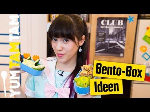 Bento Box // Onigiri, Omelette-Röllchen und Sternchen-Toast // #yumtamtam