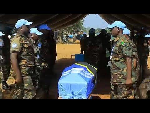 ΟΗΕ: Τελετή μνήμης για τους κυανόκρανους που σκοτώθηκαν στο Κονγκό …