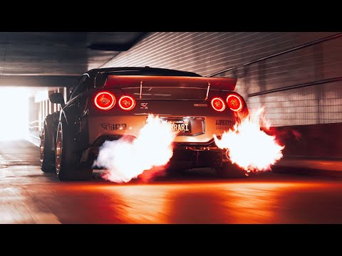 Flame Spitting R35 GTR in [4K]