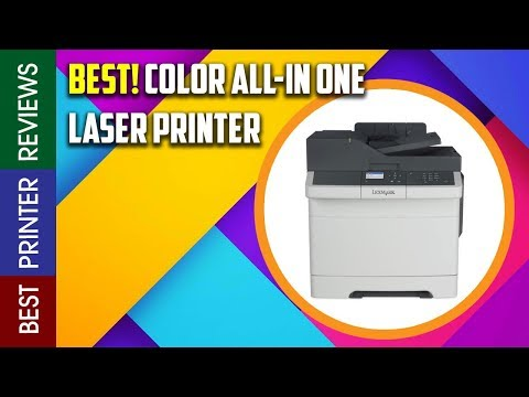 Lexmark CX317dn Color All In One Laser Printer with Scan, Copy, Network Ready, Duplex Printing