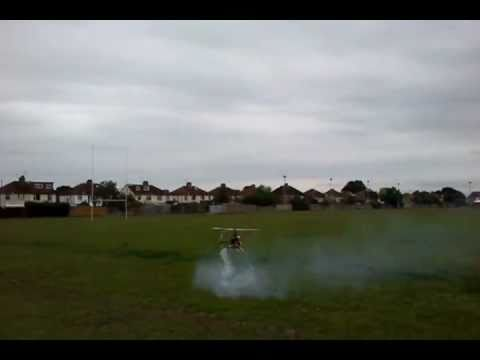 TREX 600 FIRST FLIGHT AFTER ENGINE REBUILD…….