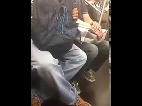 Woman Humiliates A Guy Who Is Caught Masturbating On NYC Subway