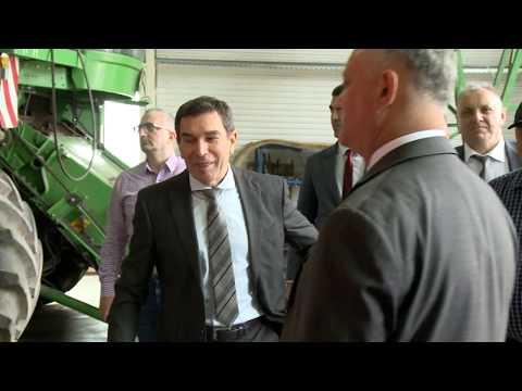 Igor Dodon s-a familiarizat cu activitatea a două întreprinderi din Drochia