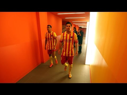 View - Enjoy this 100 second video of the changing room being prepared, the build-up to the match, the warm-up and the post-game celebrations of the 2-0 win. ----- Click here to watch the full video:...