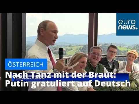 Österreich: Putin gratuliert nach dem Tanz mit der Br ...