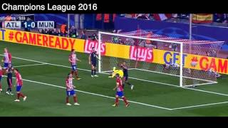 Gol de Saul Ñiguez vs Bayern Munich, Atlético de Madrid 1 - 0 Bayern Munich, Semifinales UCL 2016.